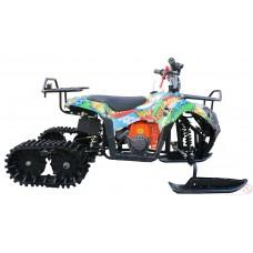 Детский снегоход (снегоцикл) Mini-Grizlik Snow