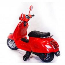 Детский электромотоцикл Vespa XMX 318
